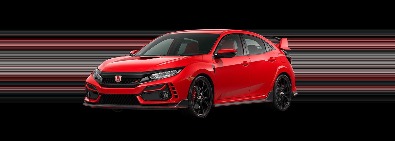 2020 Honda Civic Type R in Rallye Red