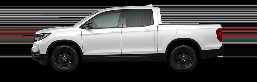 2021 Honda Ridgeline Black Edition in Platinum White Pearl