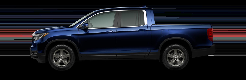 2021 Honda Ridgeline RTL in obsidian blue pearl