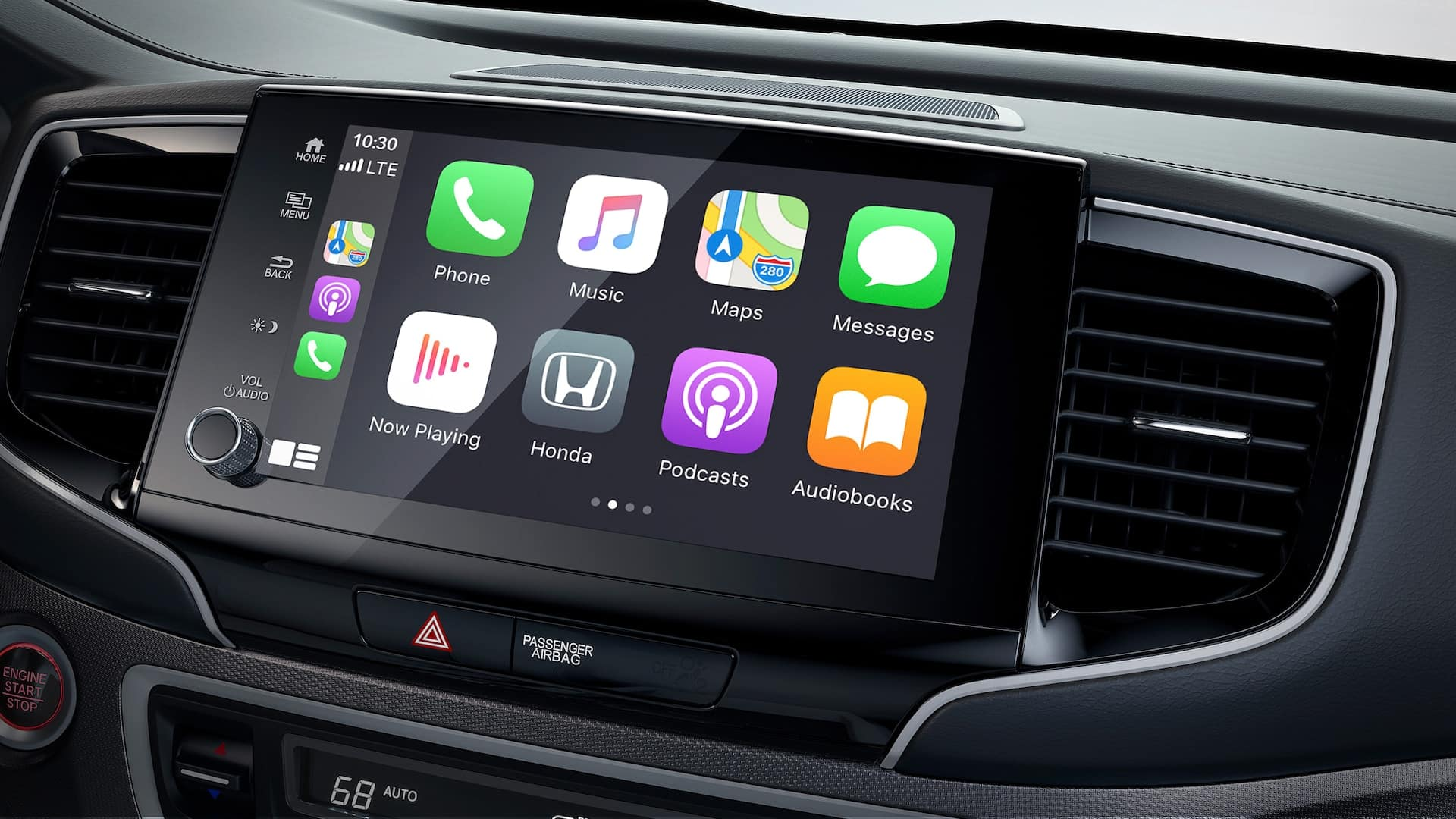 2021 Honda Ridgeline with Apple CarPlay and Android Auto Integration