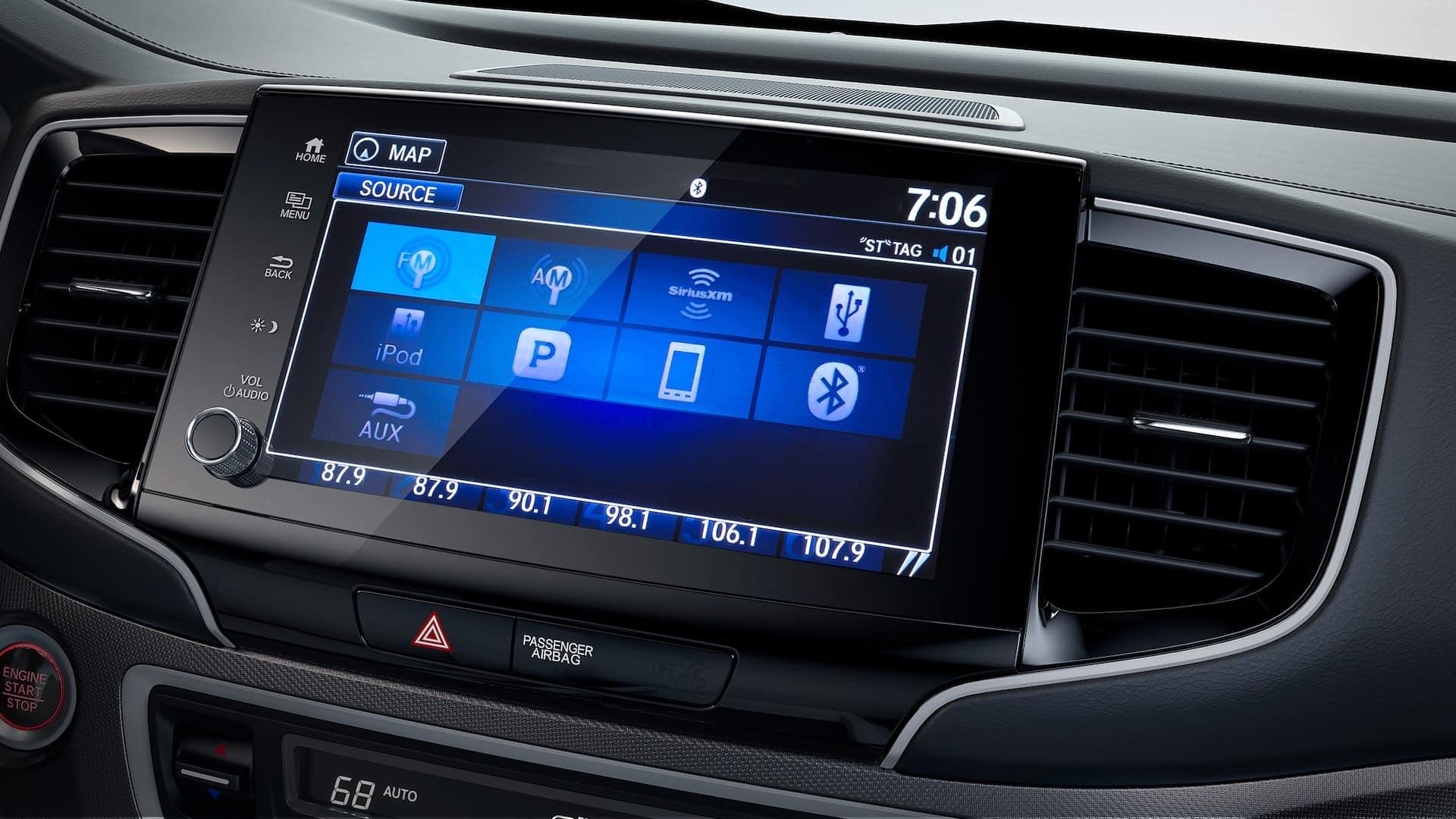 2021 Honda ridgeline with sirius xm satellite radio