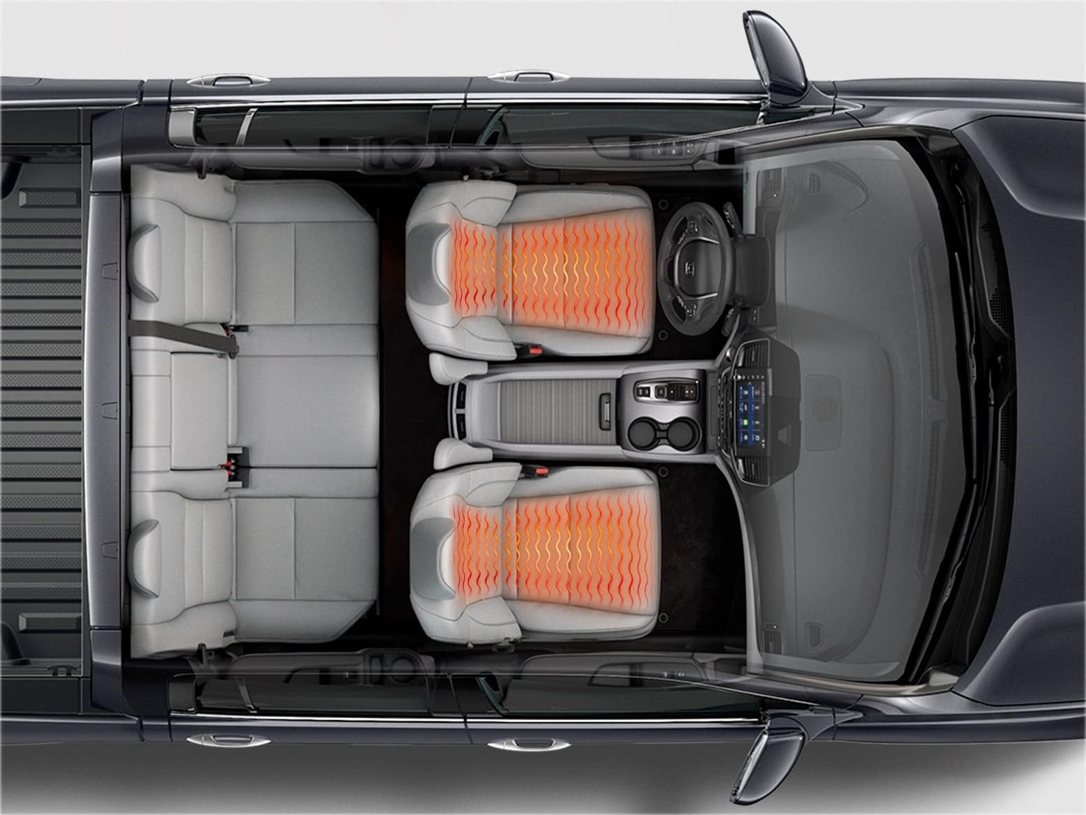 2021 Honda ridgeline with with heated front seats