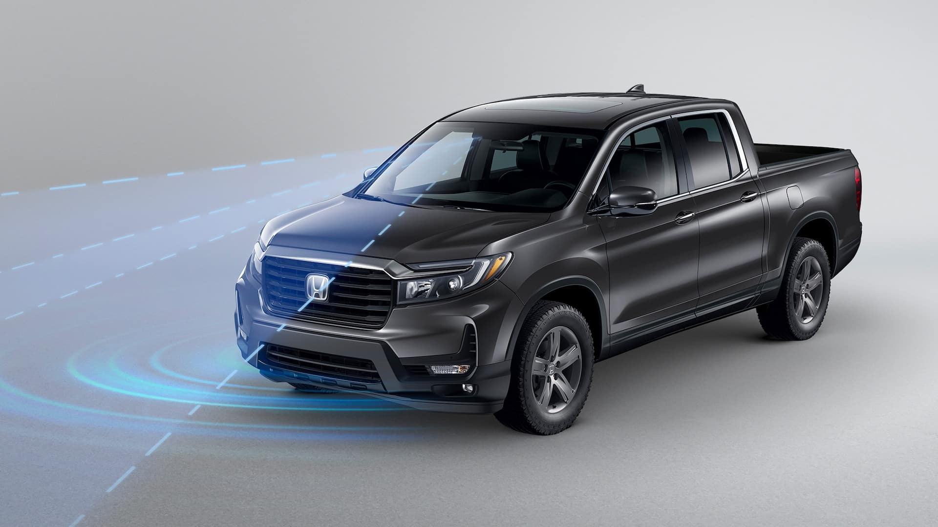 2021 Honda Ridgeline with standard Honda Sensing