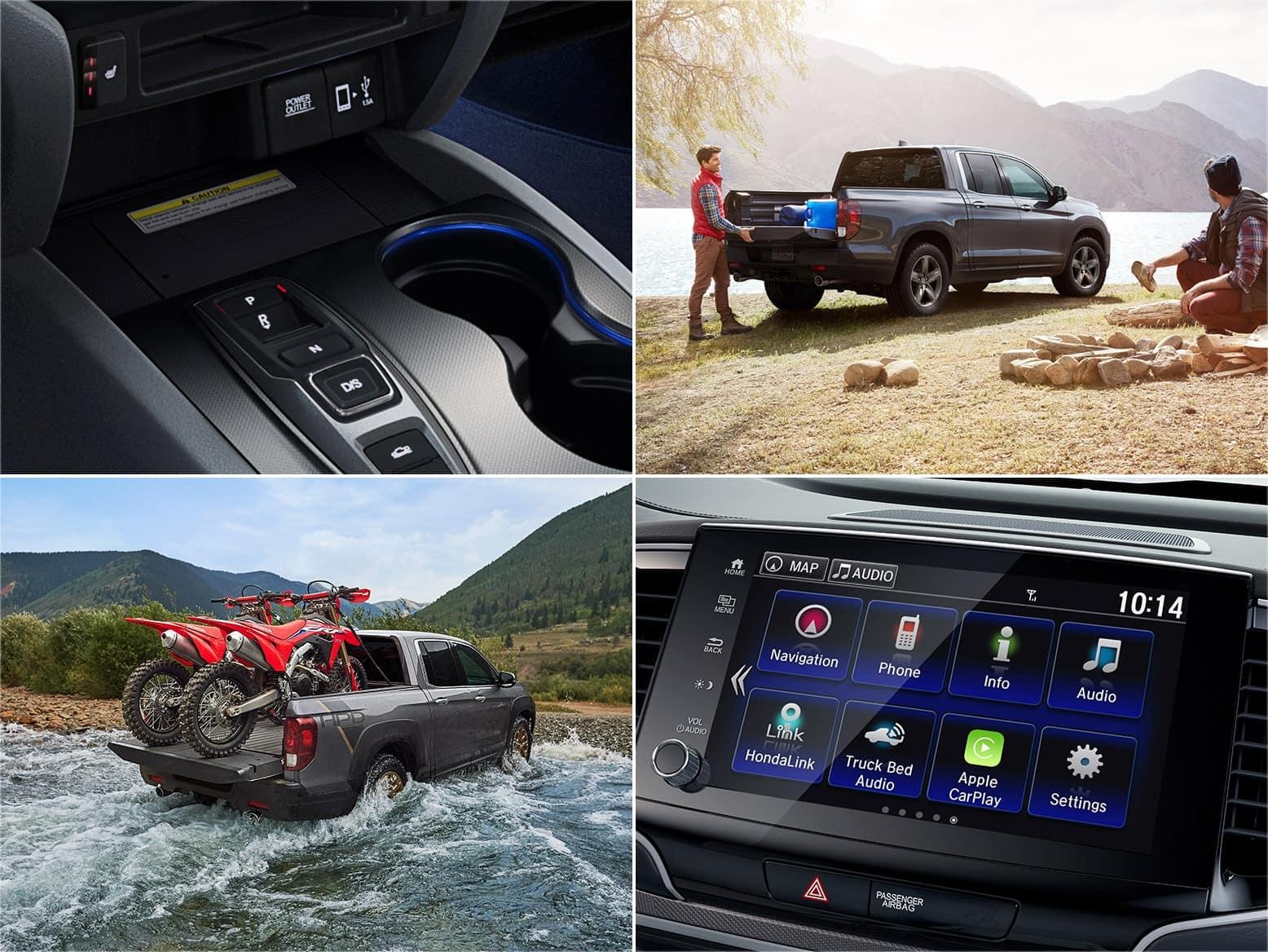 2021 Honda Ridgeline RTL-E Features