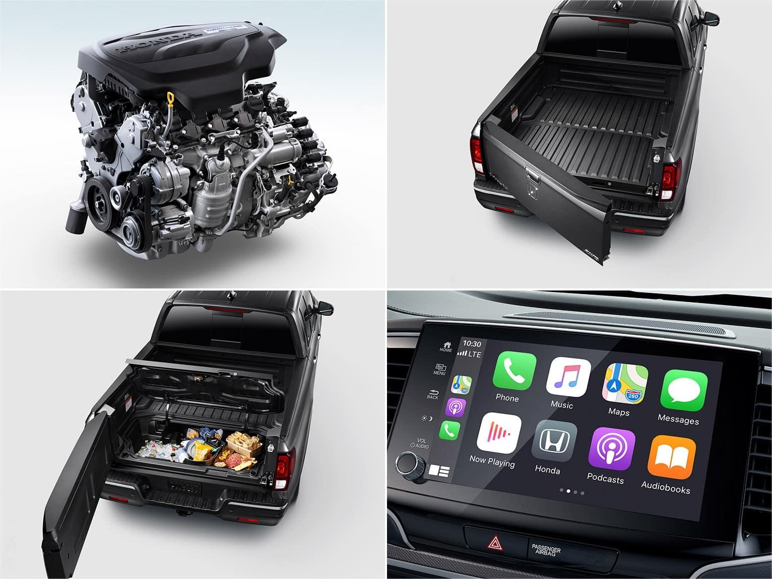 2021 Honda Ridgeline Sport features