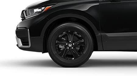 2021 Honda CR-V with gloss black wheels