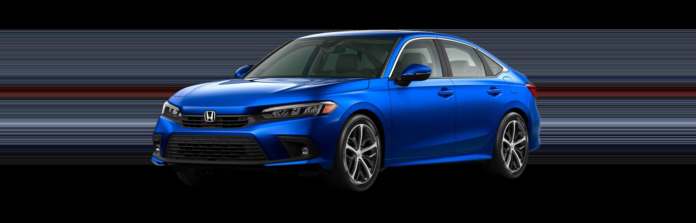 2022 Honda Civic in Aegean Blue Metallic