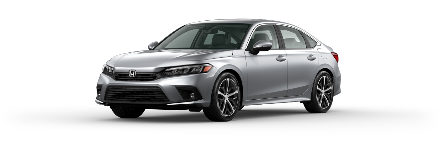 2022 Honda Civic in Lunar Silver Metallic