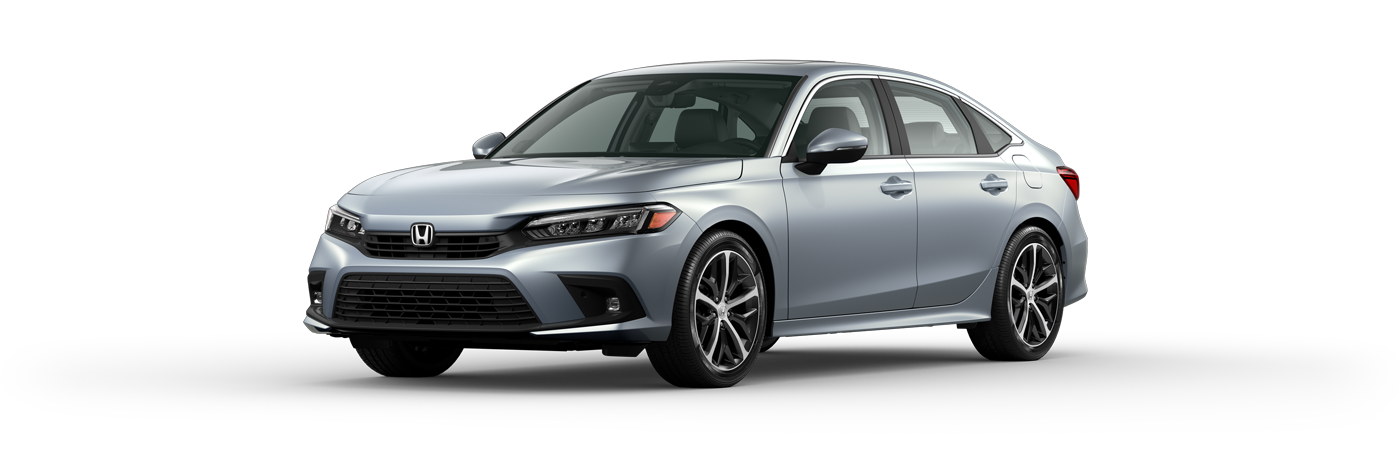 2022 Honda Civic in Morning Mist Metallic