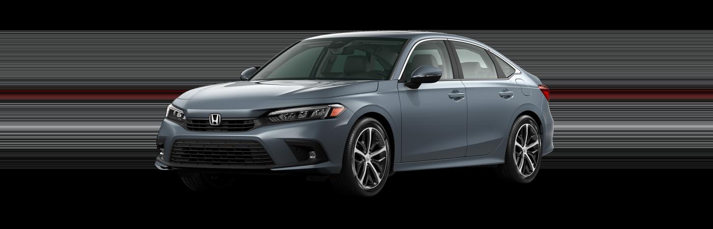 2022 Honda Civic in Sonic Gray Pearl
