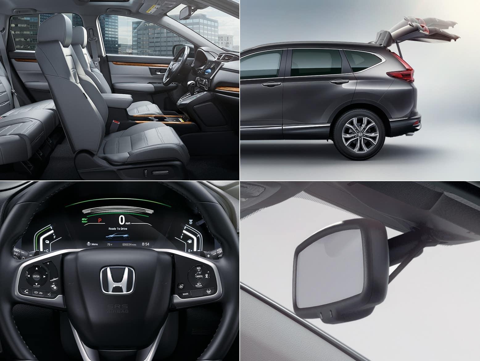 2021 Honda CR-V Hybrid EX-L features