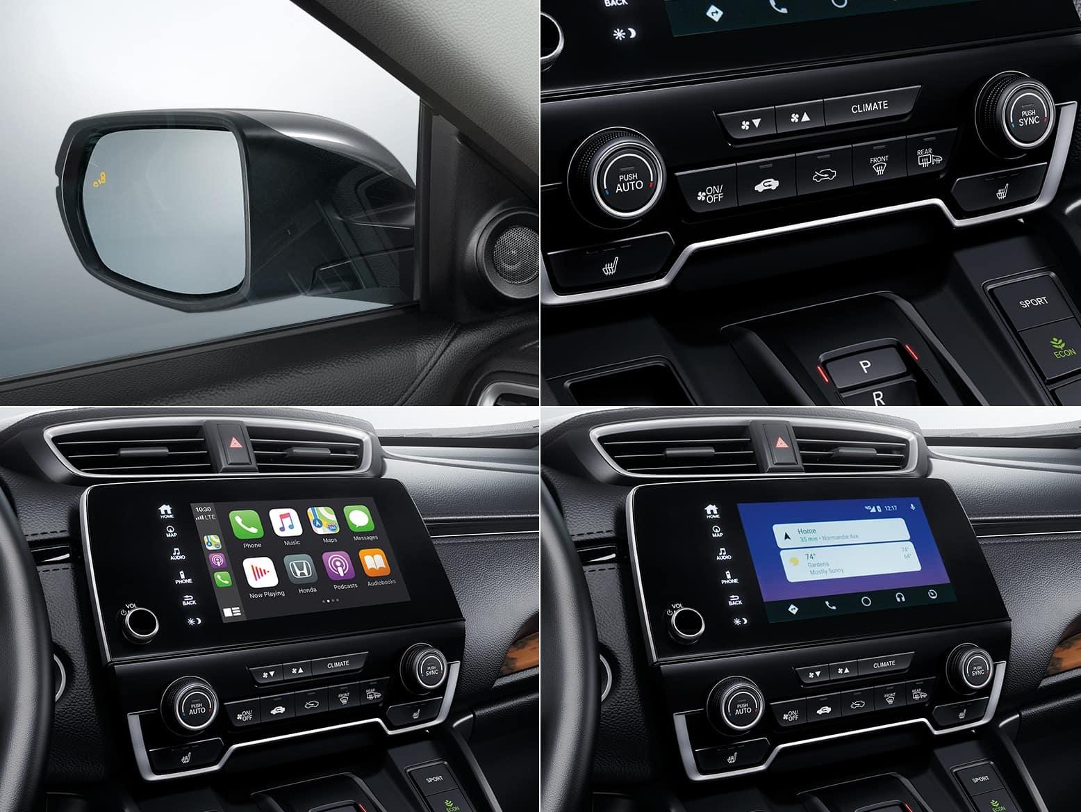 2021 Honda CR-V Hybrid EX features