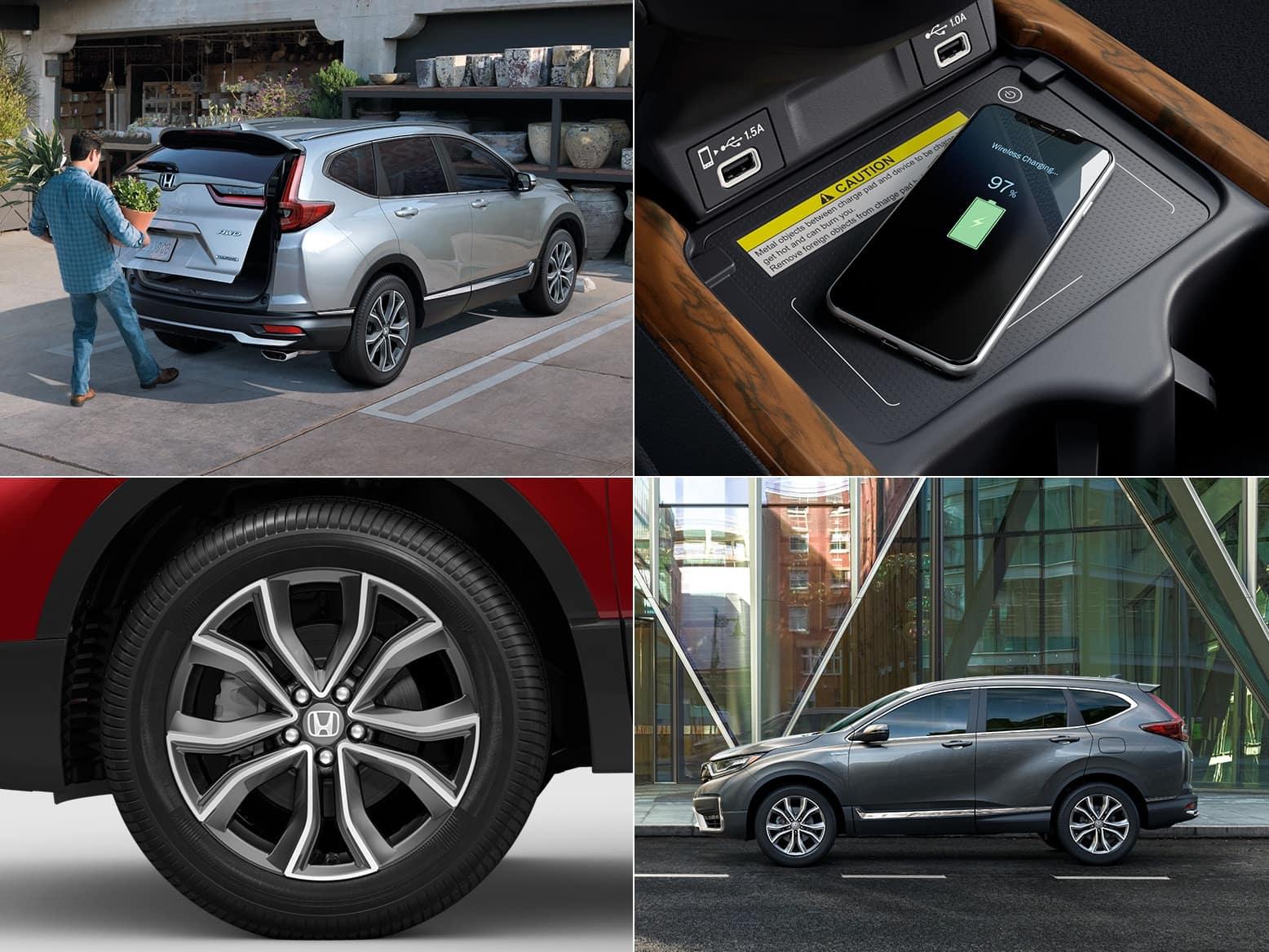 2021 Honda CR-V Hybrid Touring features
