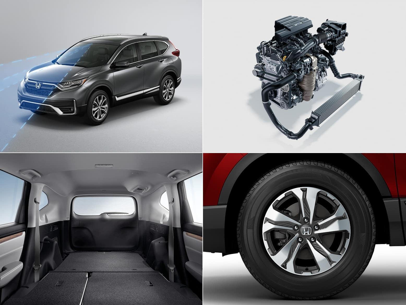 2021 Honda CR-V LX features