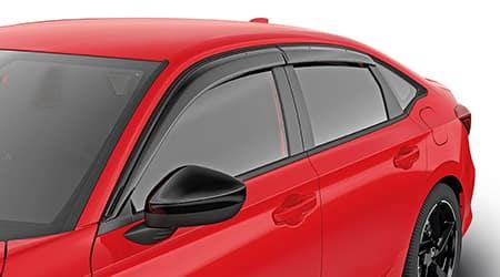 2022 honda civic window door visors