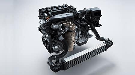 2022 Honda Civic Sedan with turbocharged engine