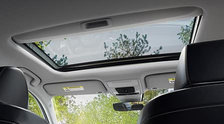 2022 Honda Civic with One Touch Power moonroof