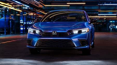 2022 Honda Civic sedan sport trim