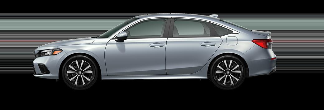 2022 Honda Civic EX in morning mist metallic paint
