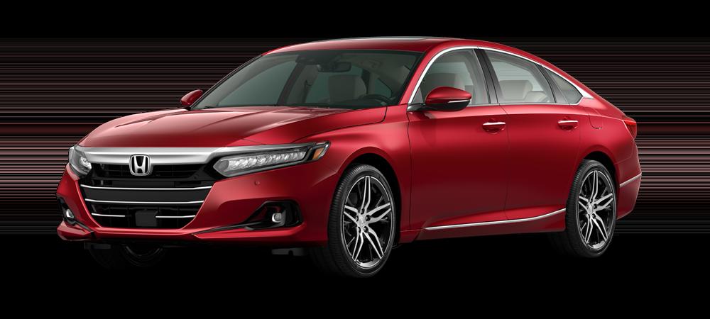 2021 accord sedan in radiant red