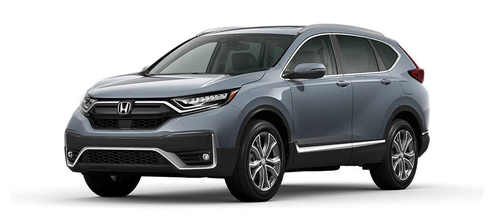 2021 cr-v compact suv in sonic gray pearl