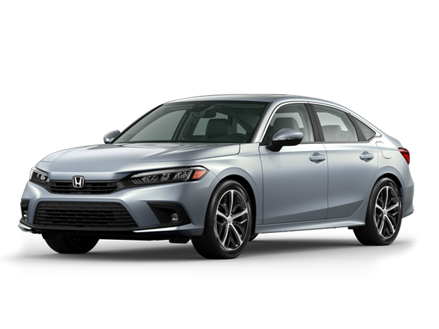 2022 Honda Civic Sedan Touring in Morning Mist Metallic