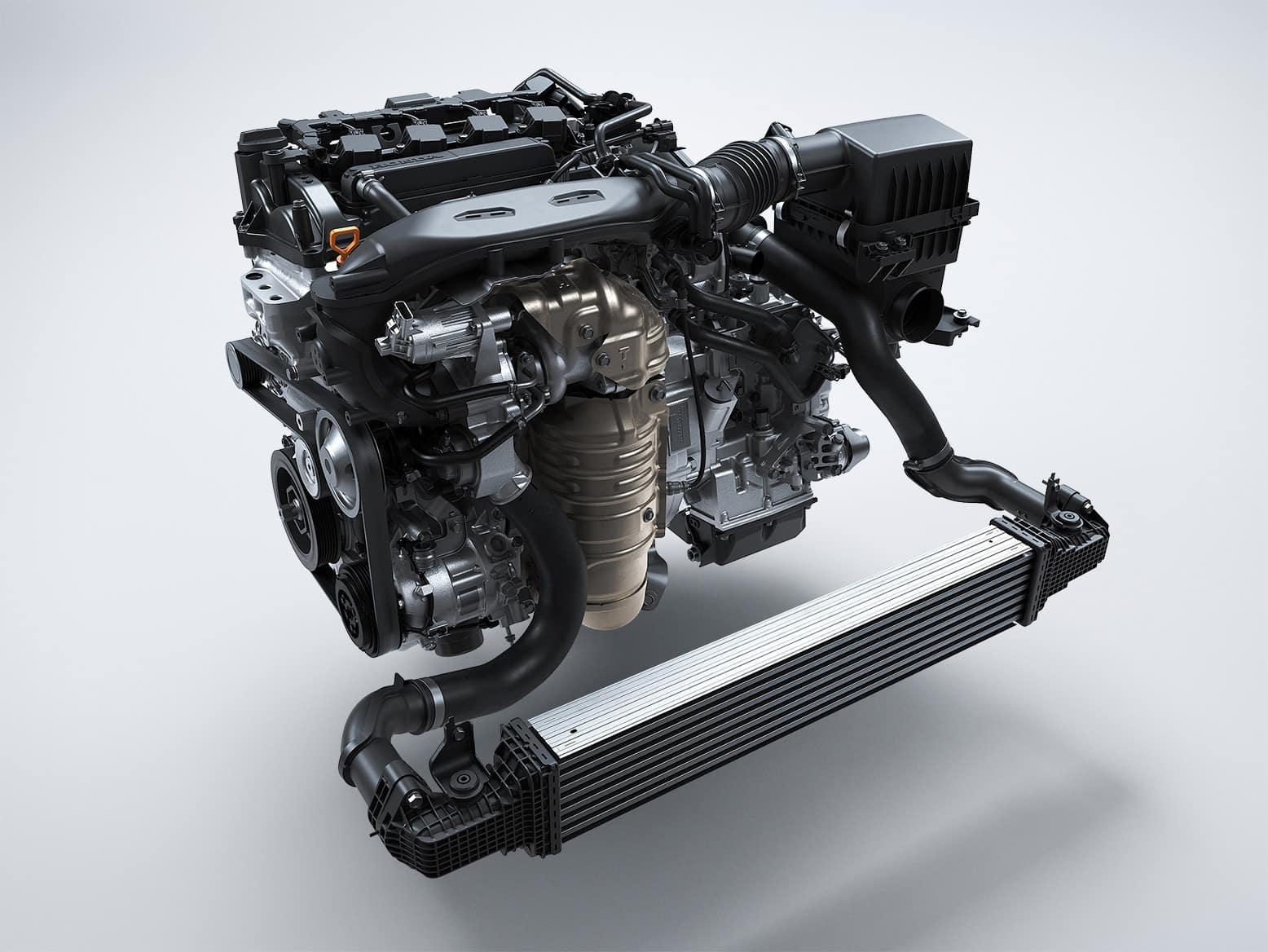 2022 Honda Civic Hatchback with turbocharged engine