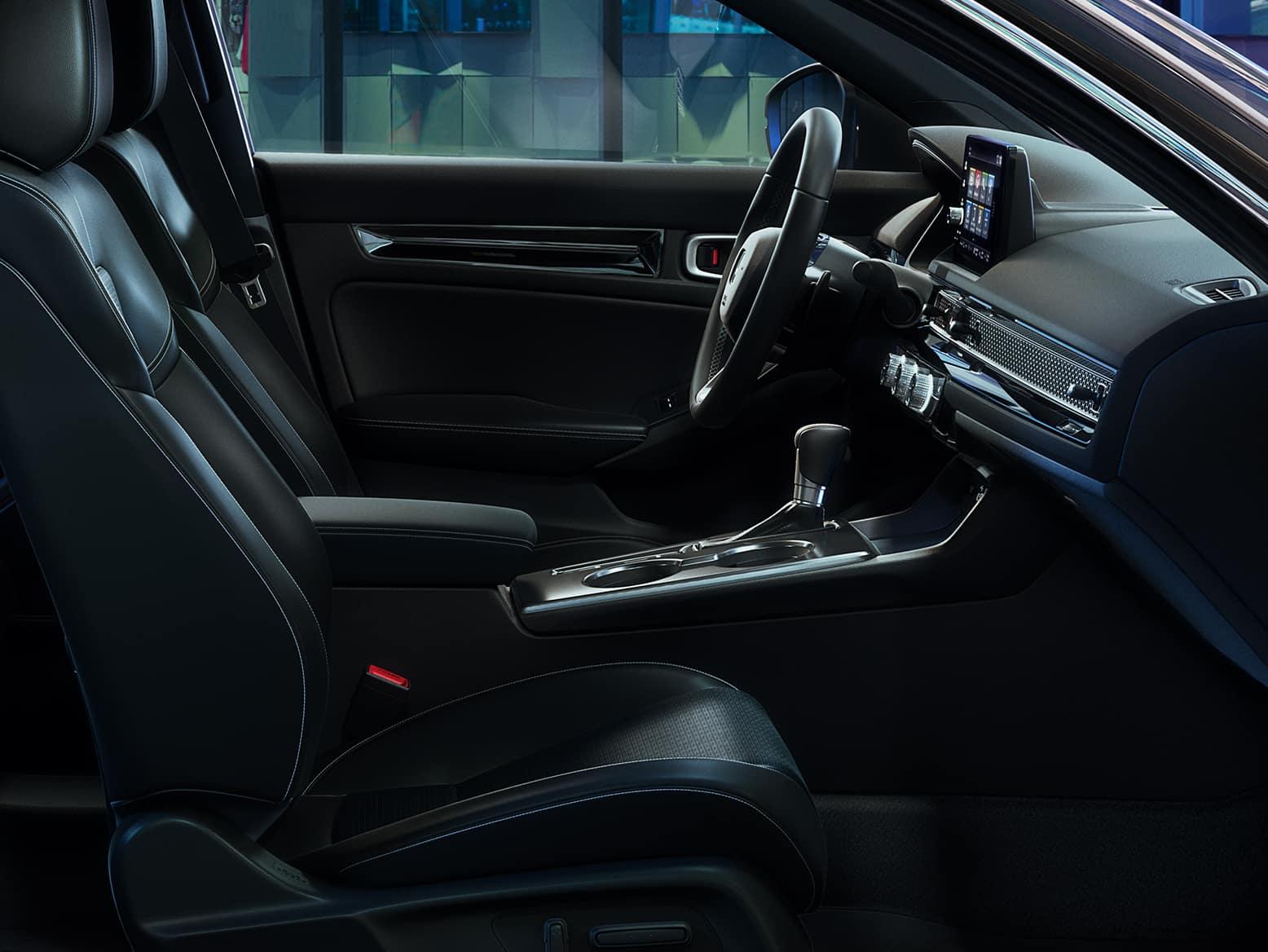 2022 Honda Civic hatchback with heated seats