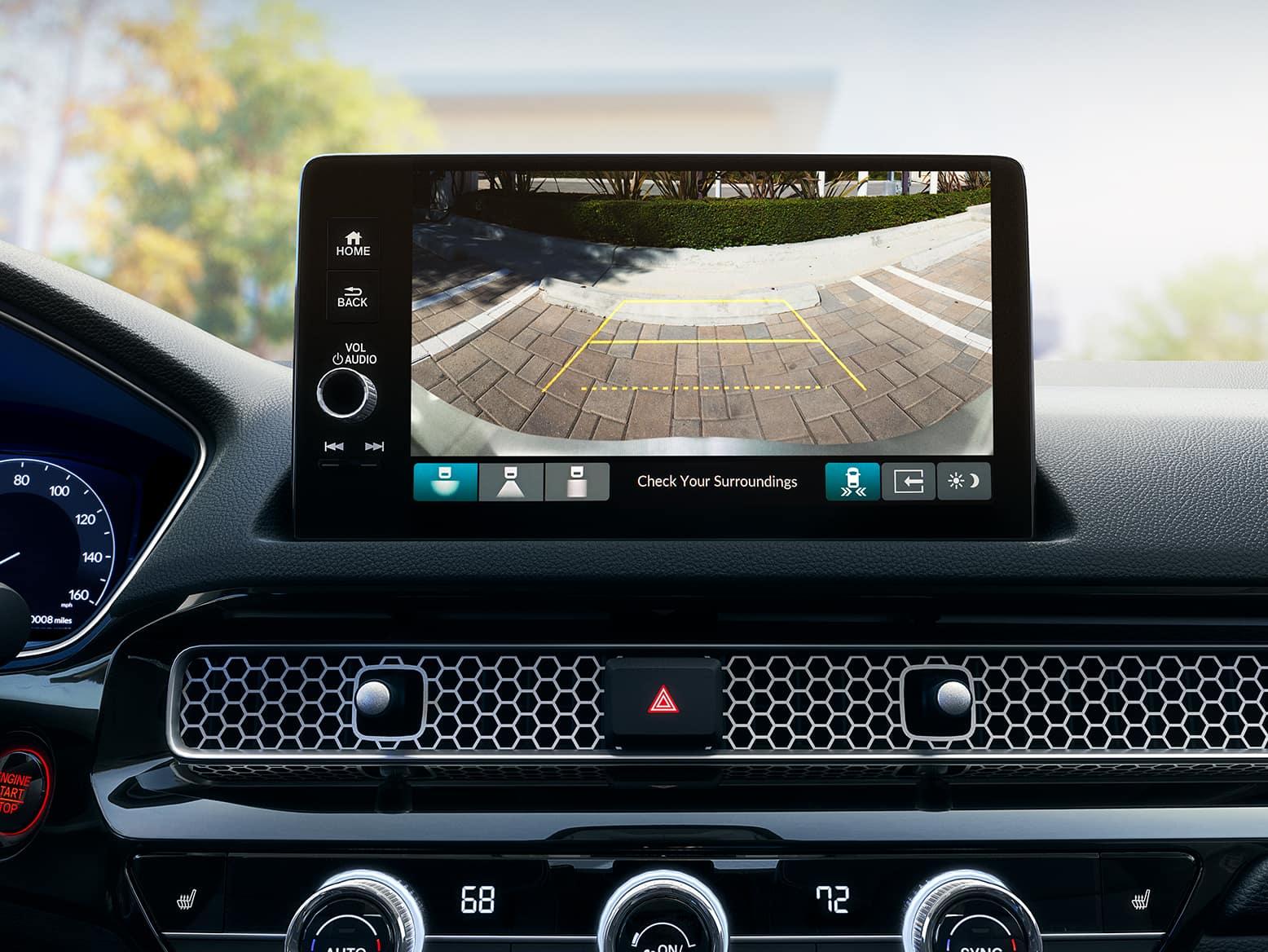2022 Honda Civic with multi angle rear view backup camera