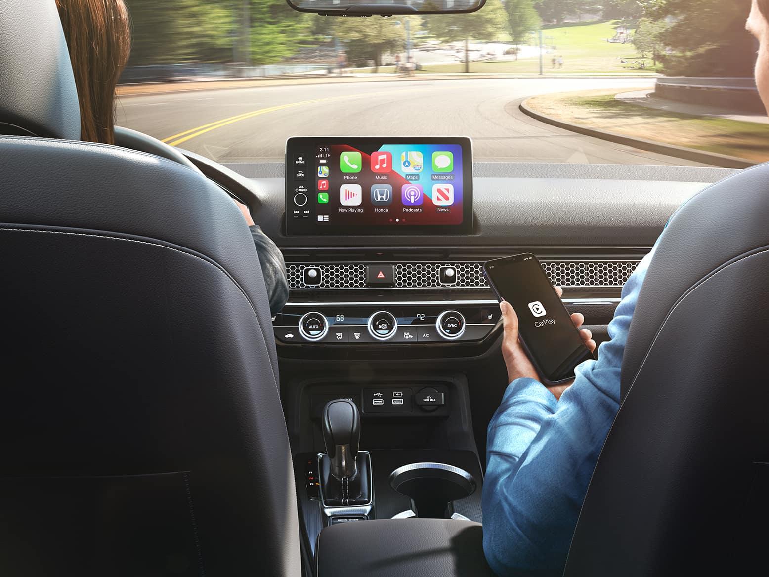 2022 Honda Civic with Wireless Apple CarPlay
