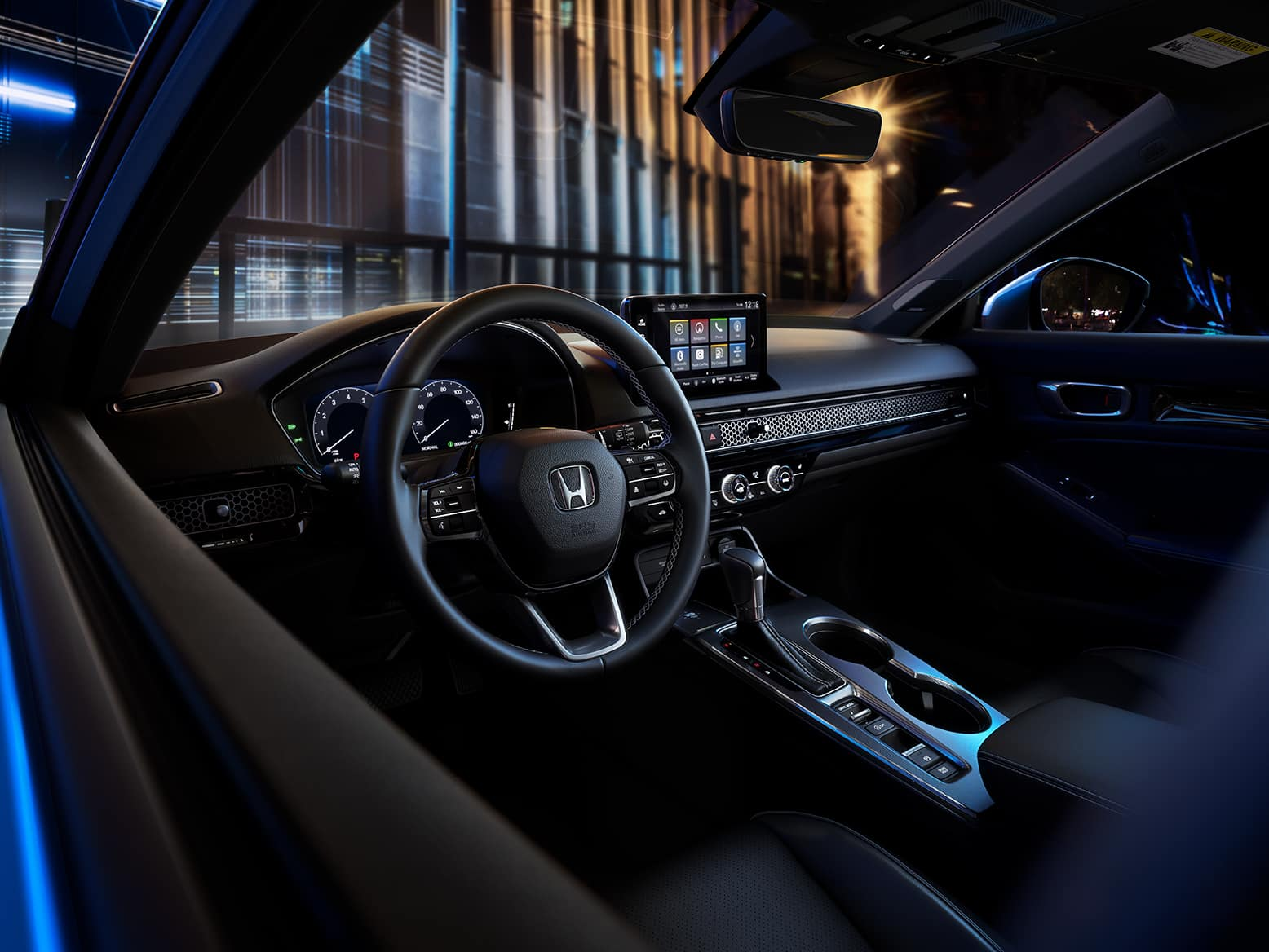 2022 Honda Civic with remote start engine
