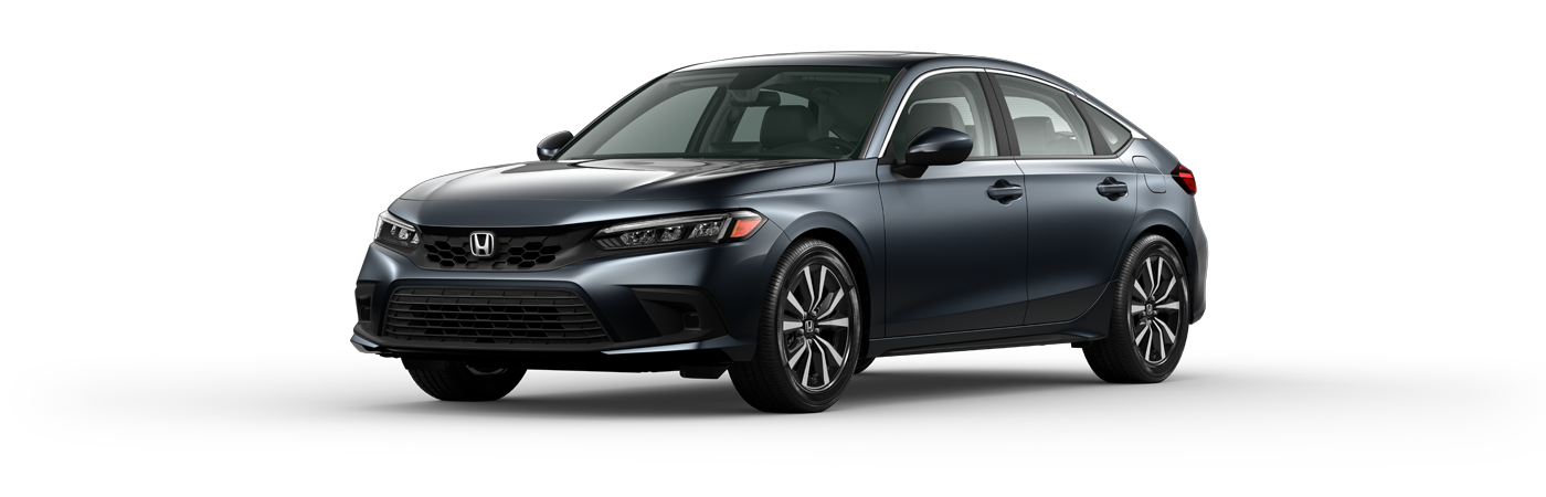 2022 Honda Civic in Meteorite Gray Metallic