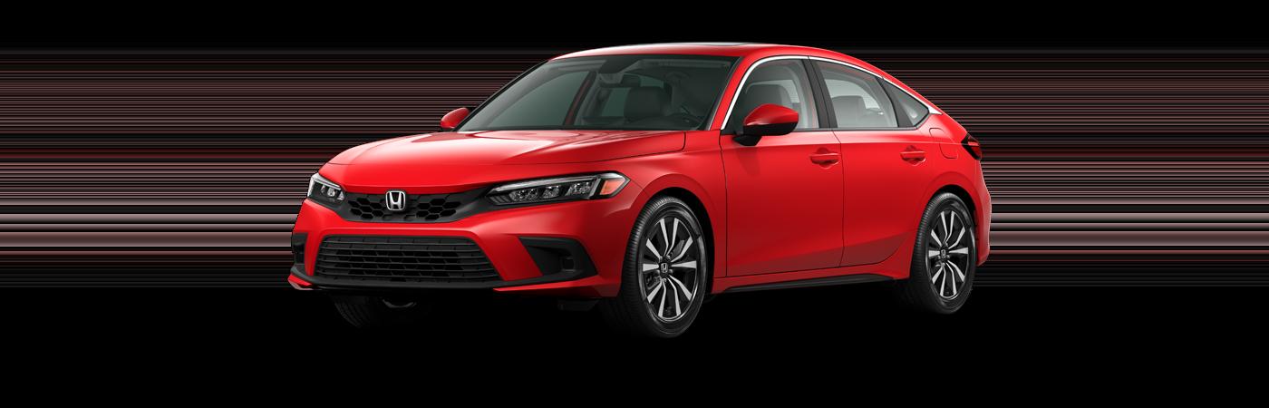 2022 Honda Civic hatchback exl ex-l trim