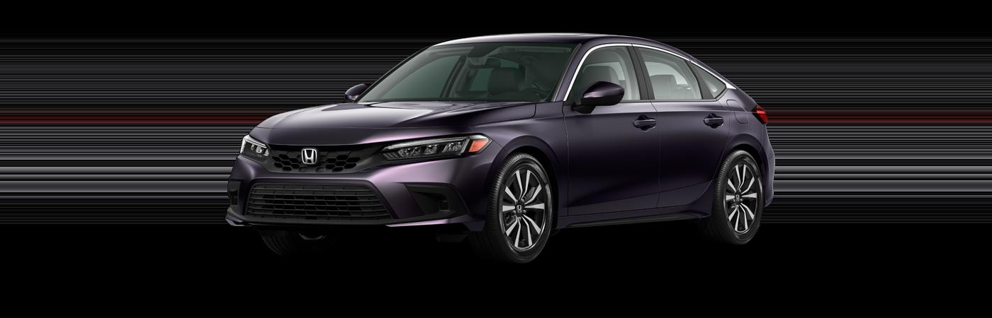 2022 Honda Civic in Smokey Mauve Pearl