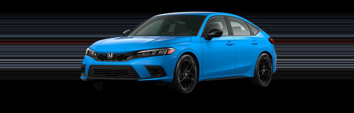 2022 Honda Civic hatchback sport trim