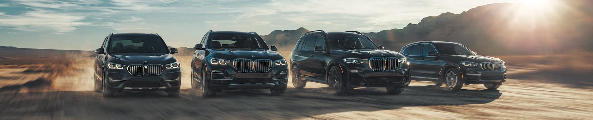 BMW Vehicle Line Up