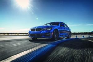 BMW 3 Series Sedan on Road