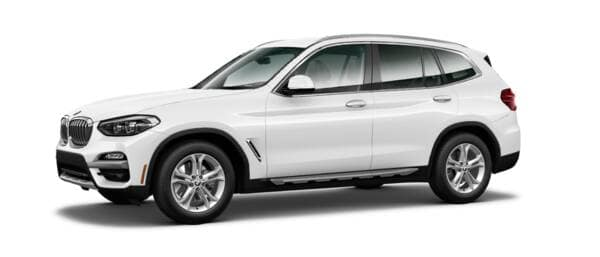 BMW X3 Sideview