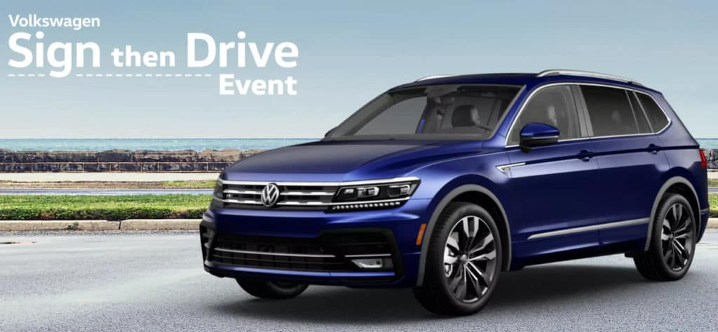 Gurnee Volkswagen is celebrating spring savings with the infamous Sign Then Drive Event. Get a new Volkswagen model with Sign Then Drive