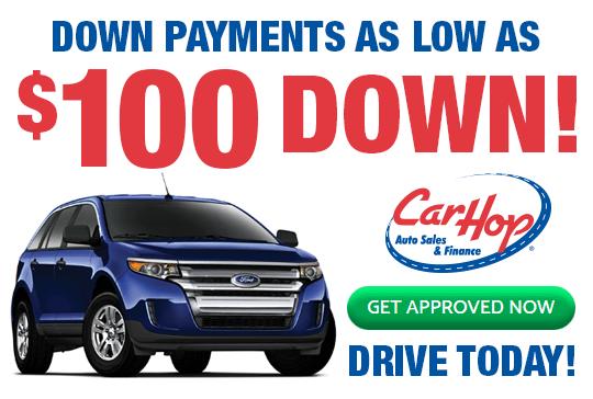 CarHop $100 Down