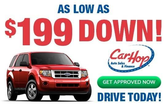 CarHop $199 Down