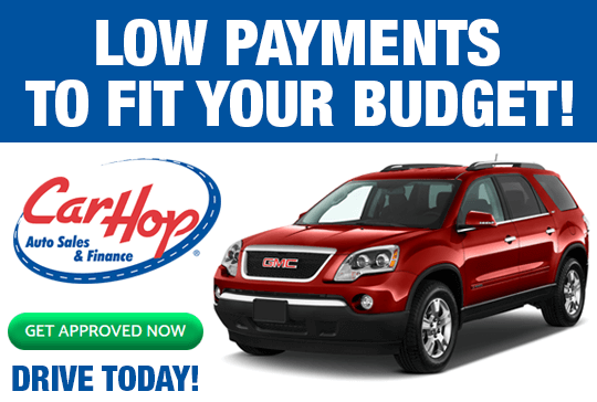 CarHop Low Payments to Fit Your Budget