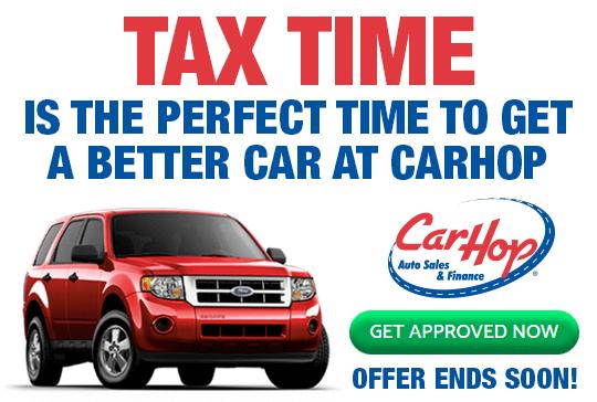 CarHop Tax Time