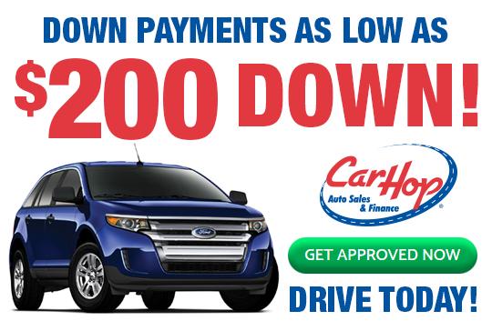 CarHop $200 Down