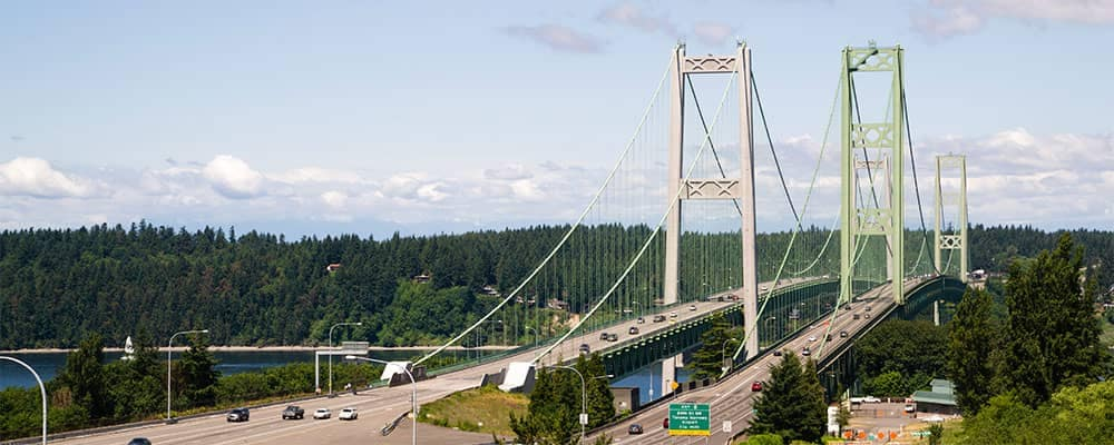 Tacoma Narrows Bridge Tacoma Washington