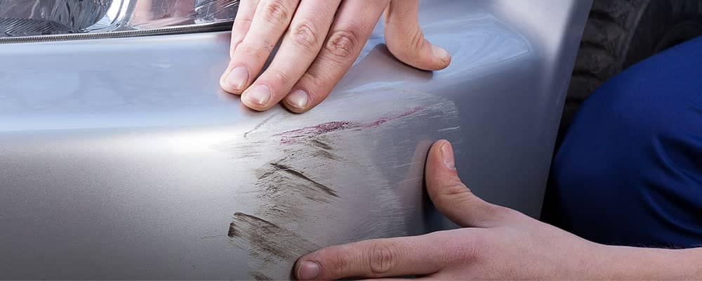 Car Scratches on Bumper