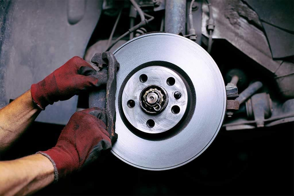 Mechanic fixing brake rotor