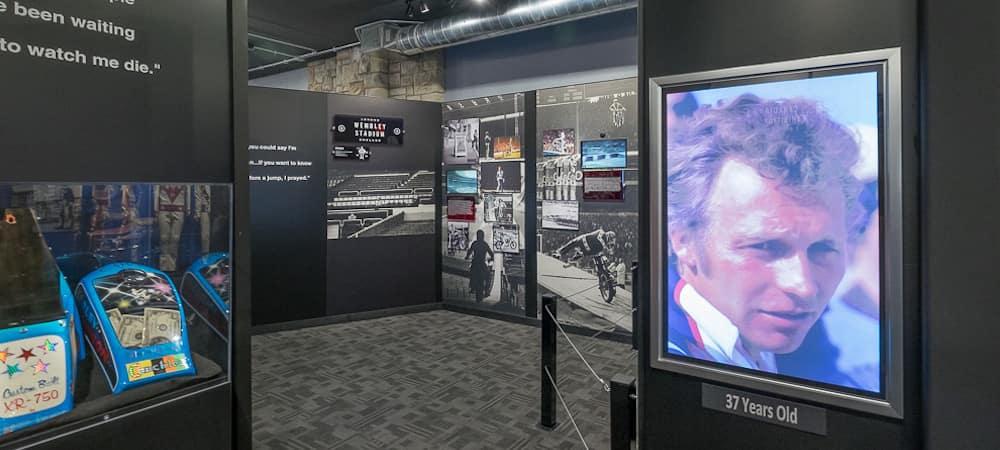 Evel Knievel Museum Exhibit