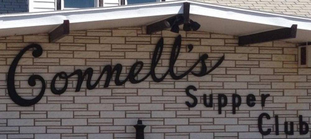 Connell's Supper Club exterior sign