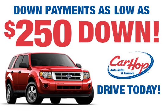 Low Down Payment Used Cars